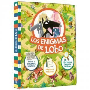 LOS ENIGMAS DE LOBO. BUSCA Y ENCUENTRA Y LABERINTO. ENIGMAS Y MISTERIOS. 30 DIFE