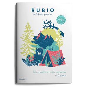 MI CUADERNO DE VERANO RUBIO. 4-5 AÑOS