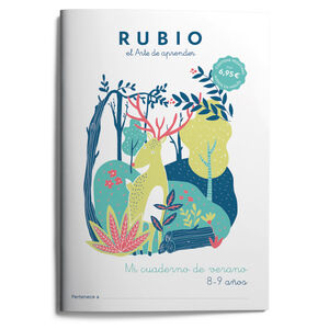 MI CUADERNO DE VERANO RUBIO. 8-9 AÑOS