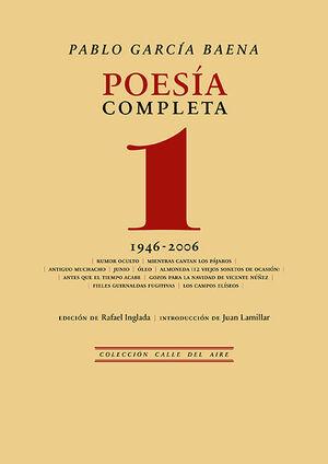 POESÍA COMPLETA DE PABLO GARCÍA 1