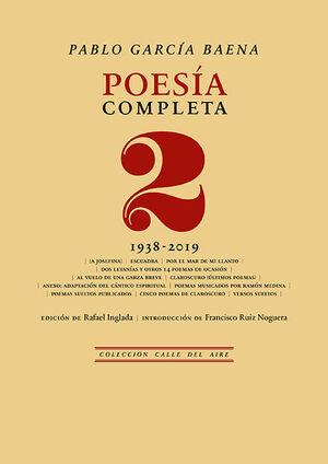 POESÍA COMPLETA DE PABLO GARCÍA, 2
